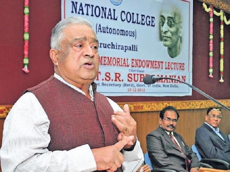 Former Cabinet Secretary TSR Subramanian passes away at 79
