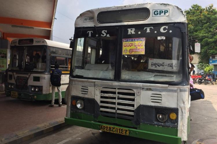 Passengers to feel the pinch as Telangana RTC hikes fares across buses
