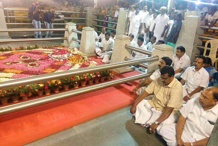 AIADMK workers in dark on party moves