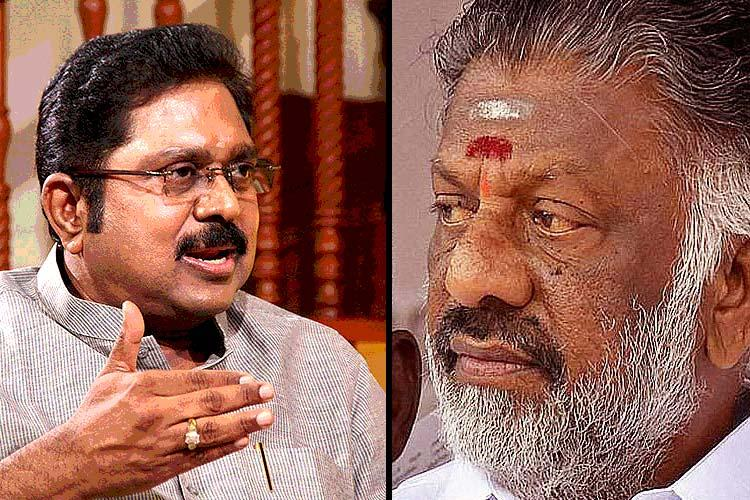 Second revolt in AIADMK Dhinakaran and Sasikala cannot lead the party say group of Ministers