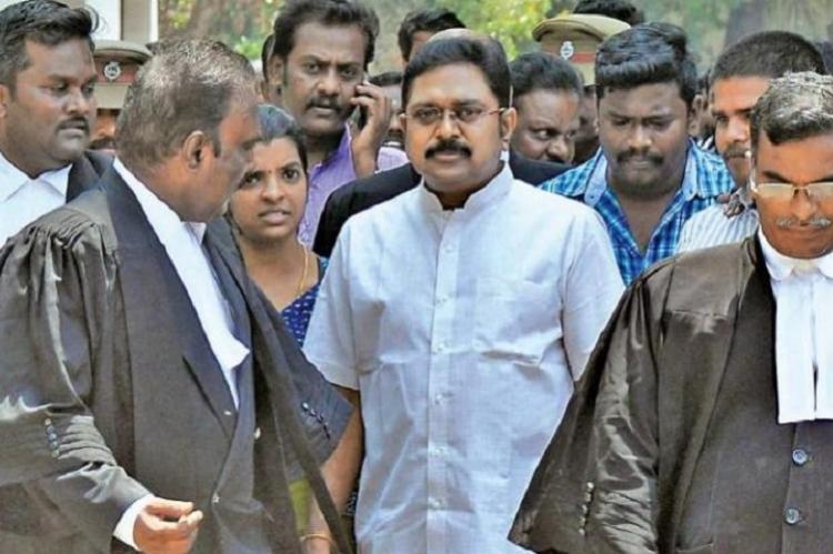 Two leaves case TTV Dhinakarans faction seeks more time next EC hearing on Nov 6