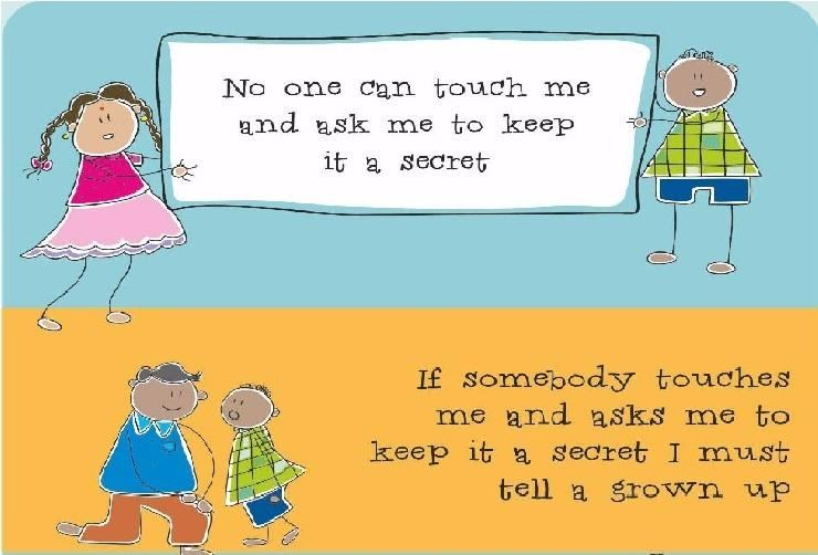 How to talk to kids about personal safety Check out these posters by a Chennai NGO