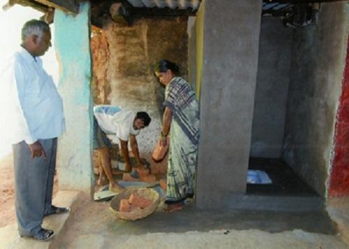 How to get villagers to build toilets a story from Karnataka