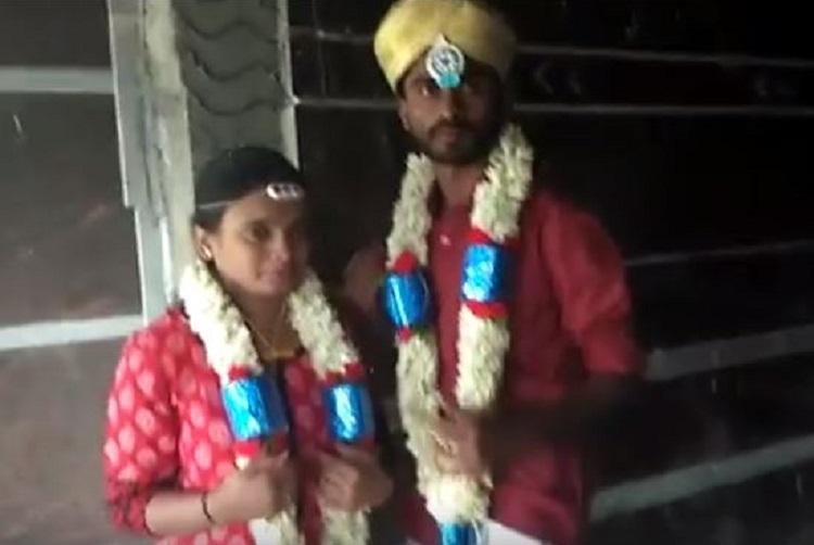 Ktaka couple stream wedding live on Facebook as safety net as parents oppose
