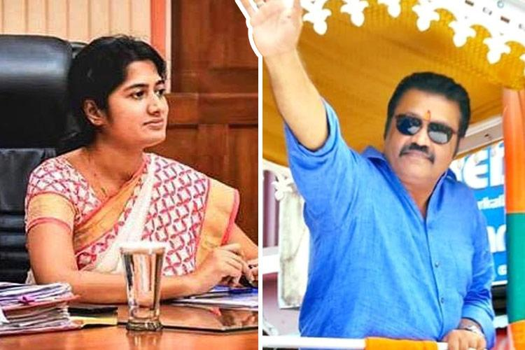 Collector Anupama IAS wants fame BJP rant after Suresh Gopi gets poll violation notice