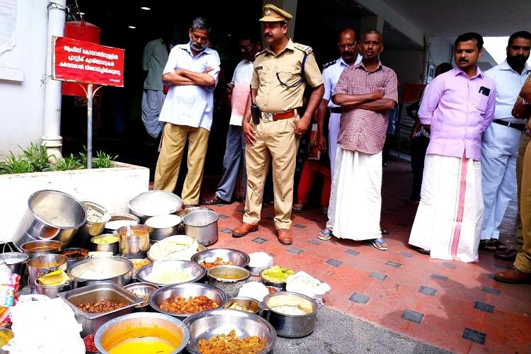 Tpuram Health Dept sends notice to 46 eateries over stale food unhygienic conditions