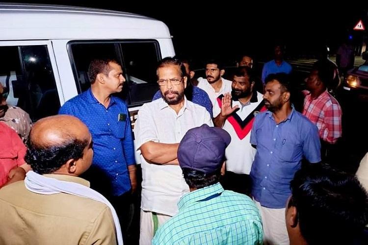 Thiruvananthapuram Mayor leads inspection squad to check garbage dumping at night