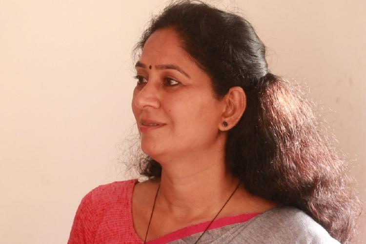 U Prathibha Hari MLA speaking to TNM at her home