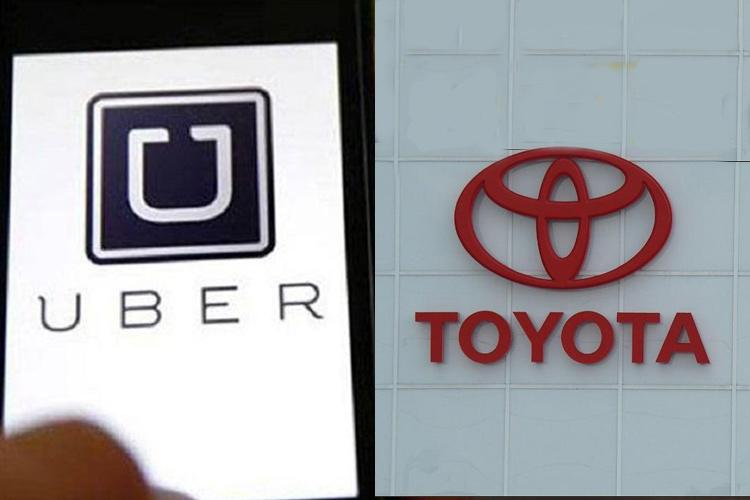 Toyota, Uber to develop driverless vehicles