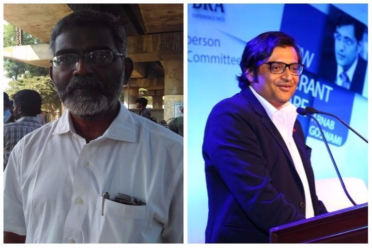 SP Udaykumar files complaint with press council against Arnab Goswami for sting operation
