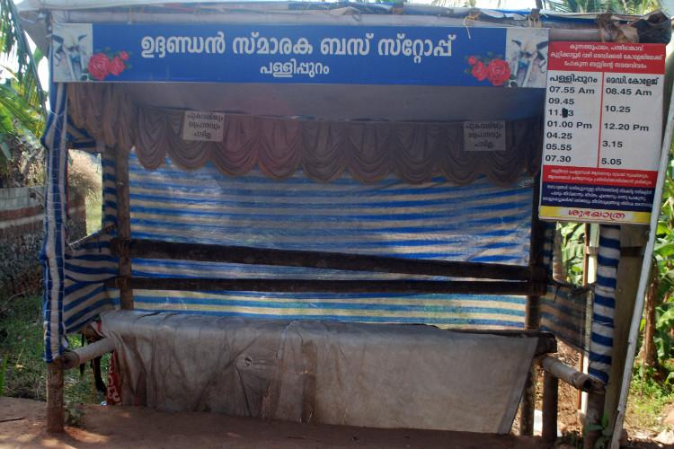 In Kerala where dogs were targeted this village has a bus-stop in memory of a dead stray-dog