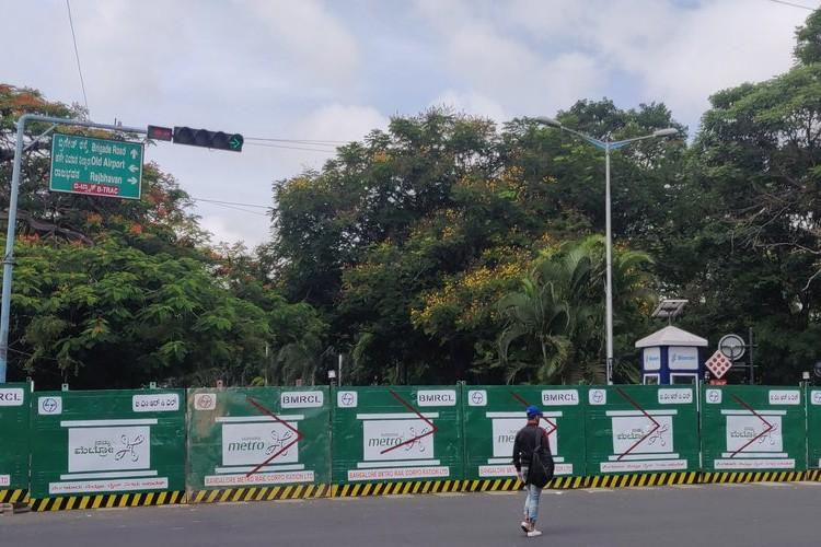 Heading towards Bengalurus MG Road Get ready for traffic diversions for 4 years