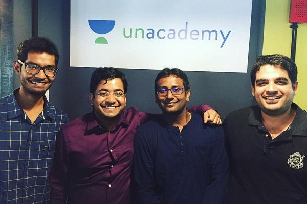 EdTech startup Unacademy raises 115 mn in Series B round led by Sequoia and SAIF Partners