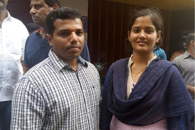 Bluru inter-caste couple allege they were sacked by bank for damaging reputation
