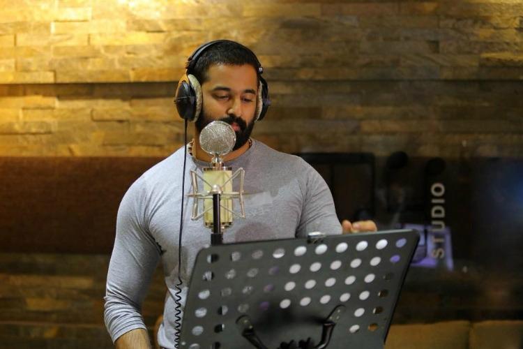Actor Unni Mukundan croons for Mammoottys Oru Kuttanadan Blog