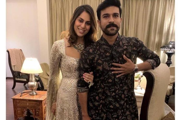 Its gonna be mad Upasana Kamineni welcomes husband Ram Charan to Instagram
