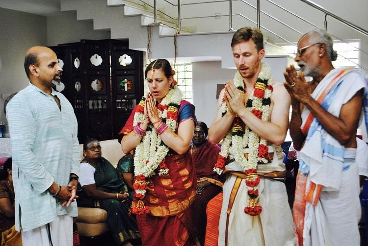 Around the world in 7 weddings This US couple is saying I do from Chennai to Kenya