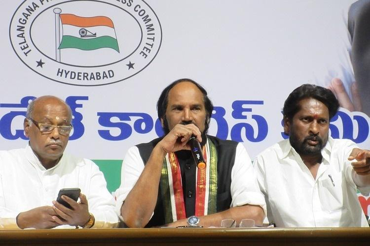 It is a black day for Telangana Congress chief Uttam Kumar alleges EVMs tampered