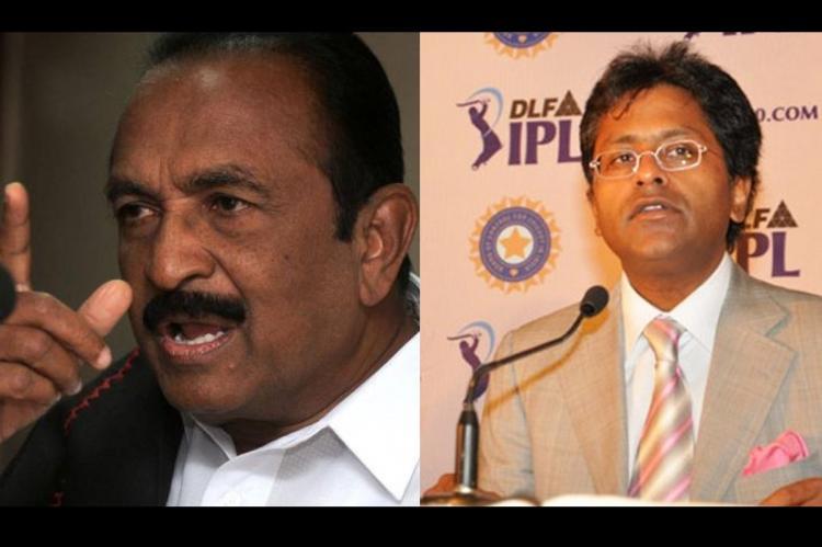 Is Chennai Super Kings ban an anti-Tamil conspiracy Vaiko takes on Lalit Modi