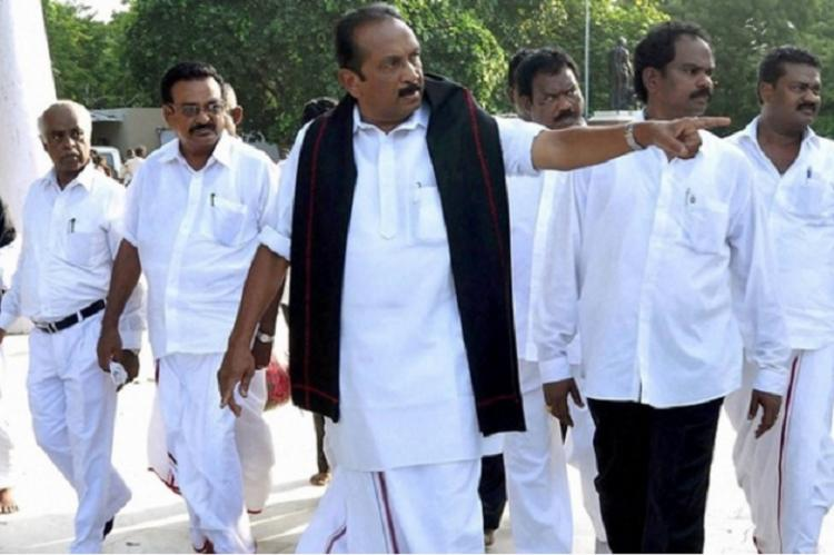 DMK wants to create bloodshed in Tamil Nadu I have evidence Vaiko to TNM