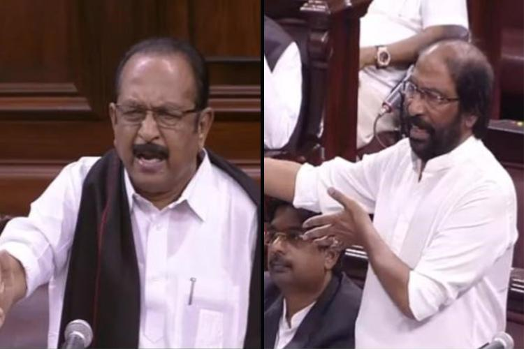 Will you stop with Jammu and Kashmir DMK MP Trichy Siva asks govt in Parliament