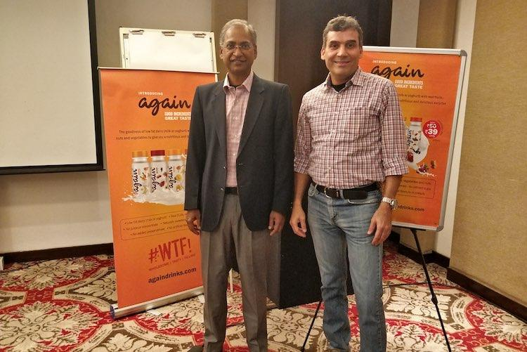 Father of Indian e-commerce Vaitheeswaran forays into beverage market with Again