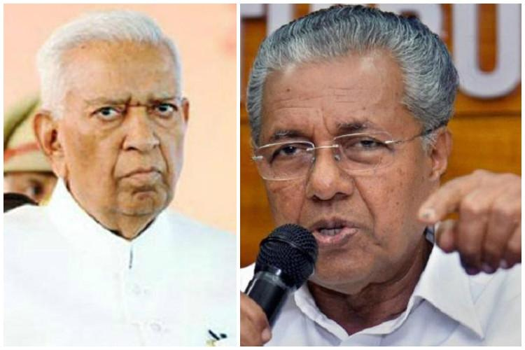 Constitution being misused to form govt in Ktaka Pinarayi hits out at Guv Vala