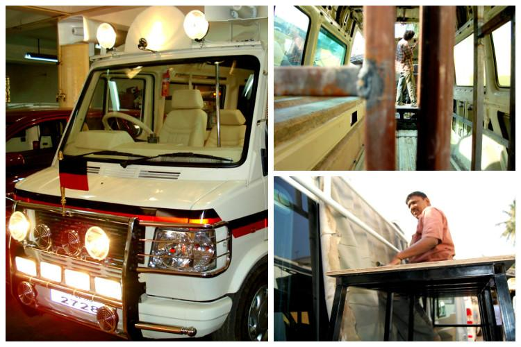 When TN politicians campaign they travel fancy A peek into how campaign vans are made