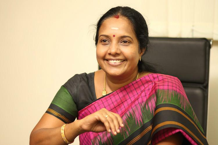 Vanathi Srinivasan of BJP becomes vice president of state BJP unit