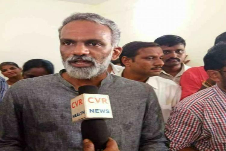 Wont keep quiet if Ranga is insulted Kapu leaders son lashes out at YSRCP mans comments