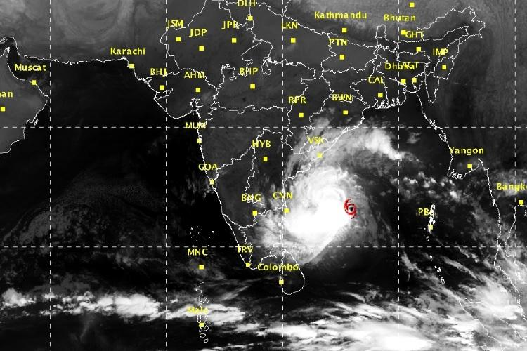Brace up Chennai Very severe cyclonic storm Vardah expected to land on Dec 12 afternoon
