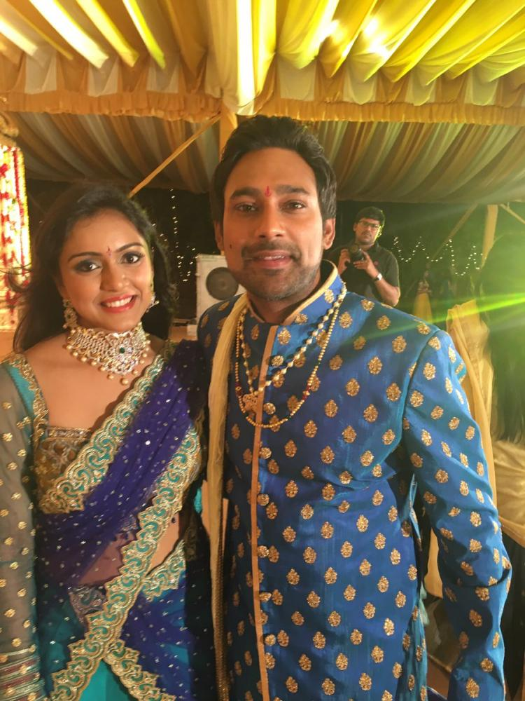 Varun Sandesh Family
