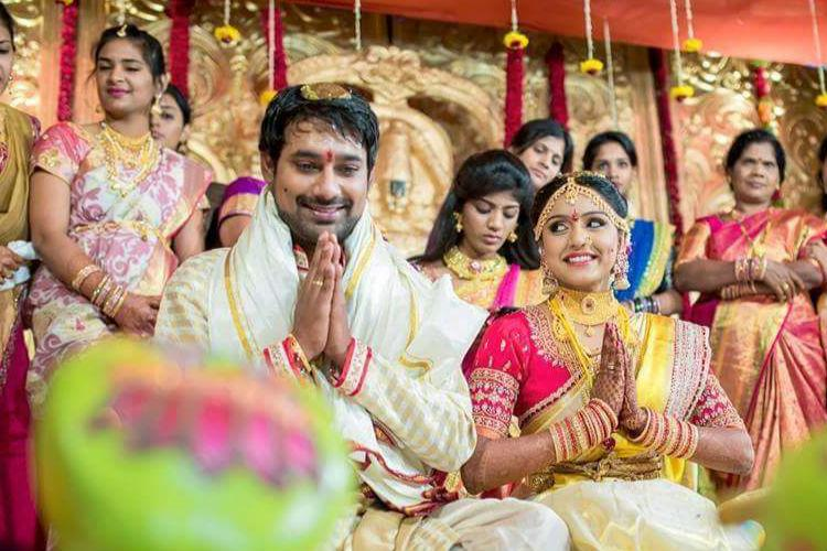 In Pictures Tollywood actors Varun Sandesh and Vithika Sheru tie the knot