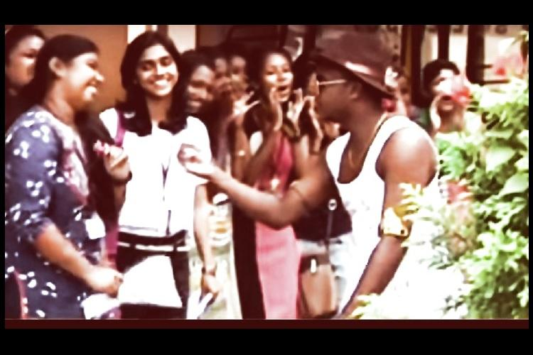 Barging into womens college is fun Kerala men on Valentines Day prove their chauvinism