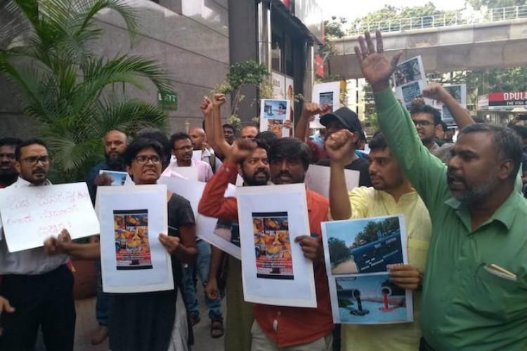 It was a planned massacre Bluru activists protest against Vedanta over killings