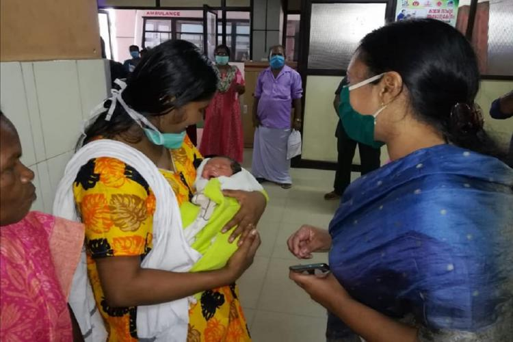 Veena George MLA helping pregnant women