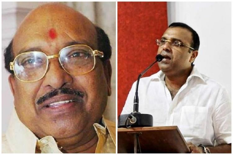 Political opportunism Vellappally Natesan and son take opposing stands on Womens Wall