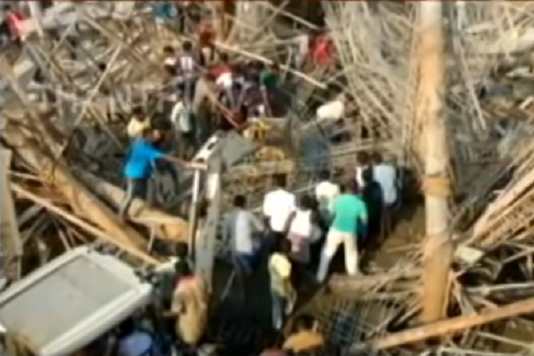 One killed and 12 injured after under-construction school collapses in Vellore