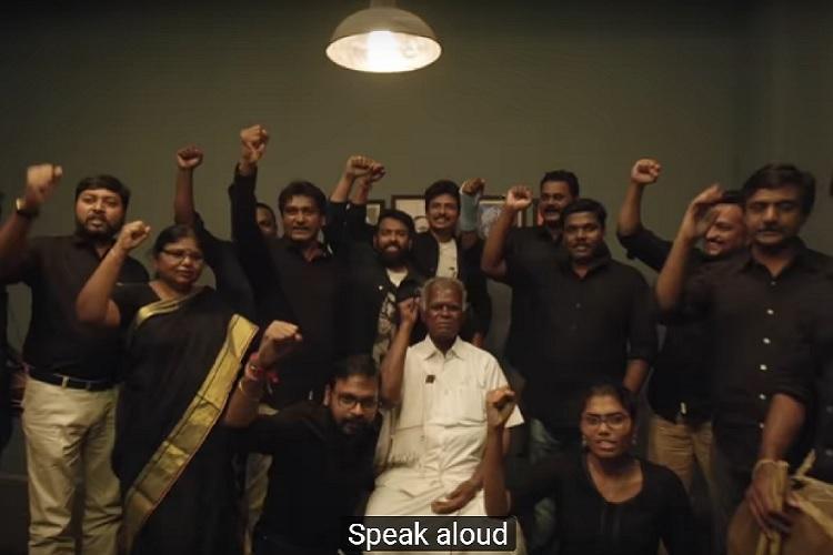 Watch A song dedicated to anti-Indians from Santhosh Narayanan-Raju Murugan