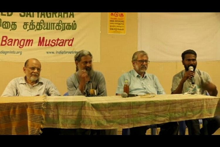 The fight against GM Mustard Director Vetrimaaran and actor Rohini join the cause