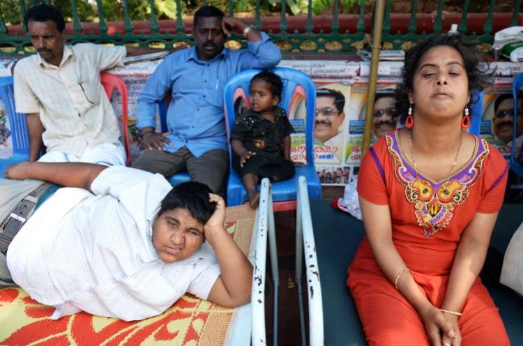 On Republic Day endosulfan-affected families launched a hunger-strike against Kerala govt