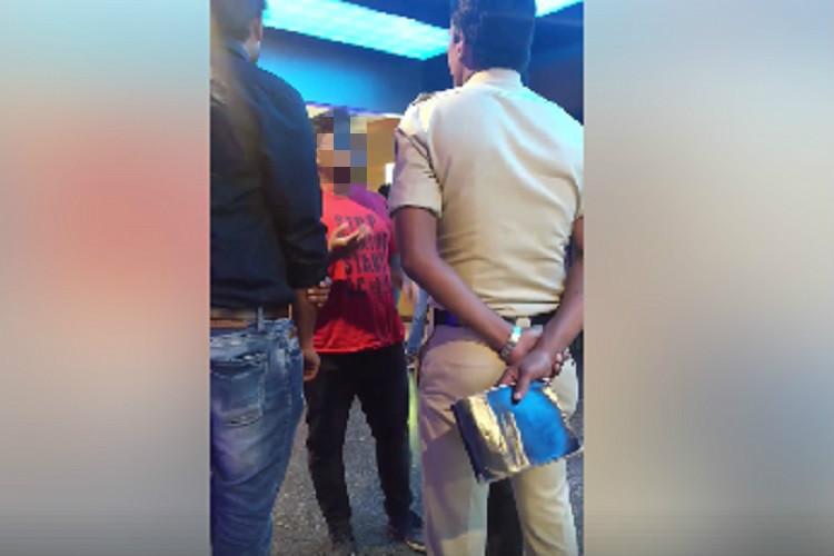 Bengaluru cop turns moral police over indecent words on mans T-shirt at multiplex