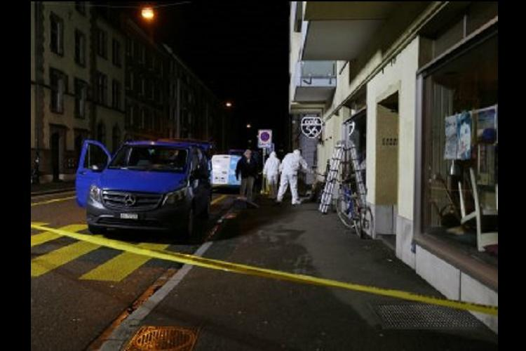 Two dead in Basel cafe shooting