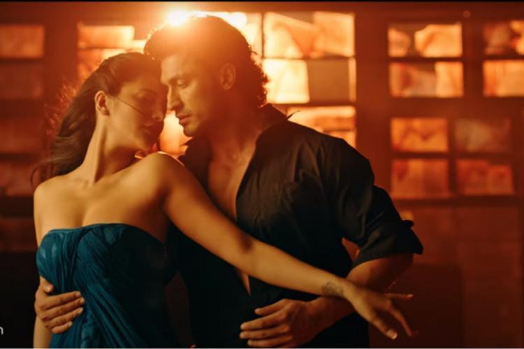 Actors Shruti Haasan and Vidyut Jammwal in a romantic scene in the film Yaara