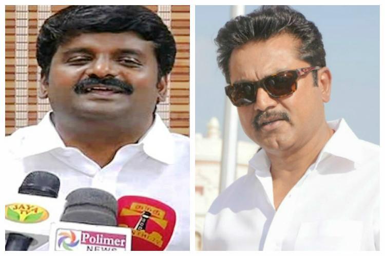 IT raids on TN minister Vijaya Baskar actor Sarathkumar and on others