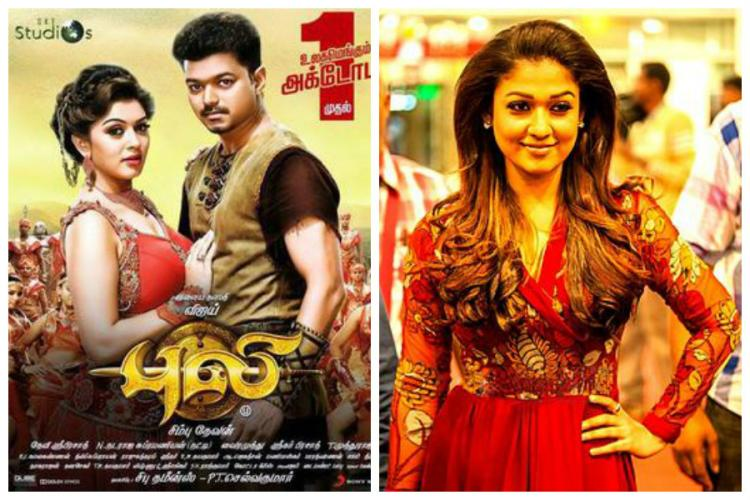 Income Tax raids at houses of Tamil actors Vijay Nayanthara