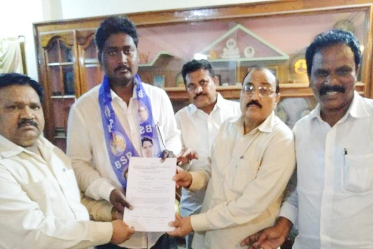 Dalit scholar Vijay Pedapudi who was expelled with Rohith Vemula to contest AP polls