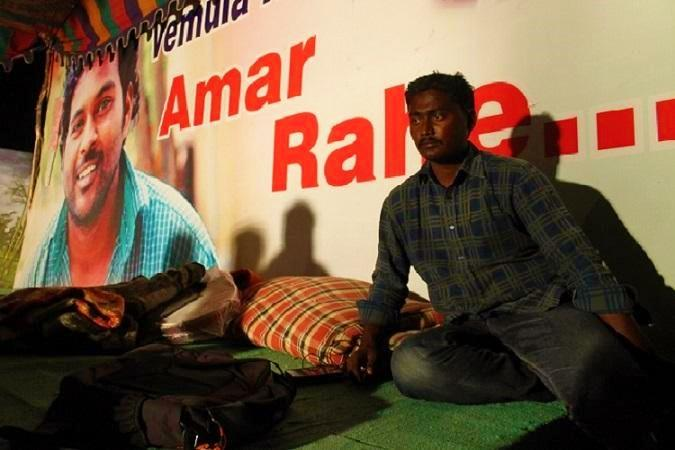 With not a paisa to his name Rohit Vemulas friend to contest AP polls