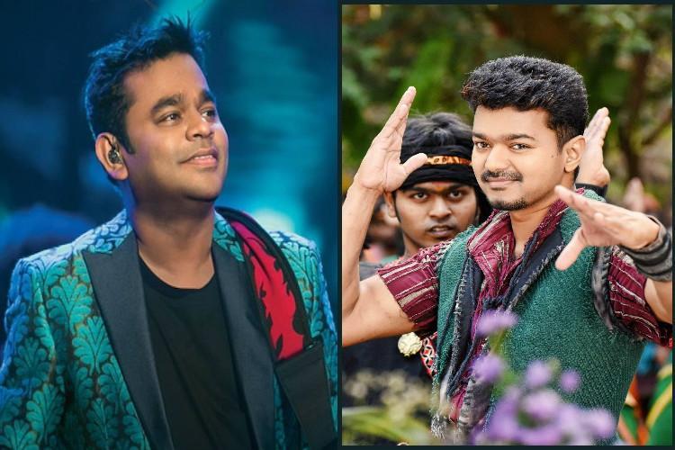 Vijay to croon for AR Rahman
