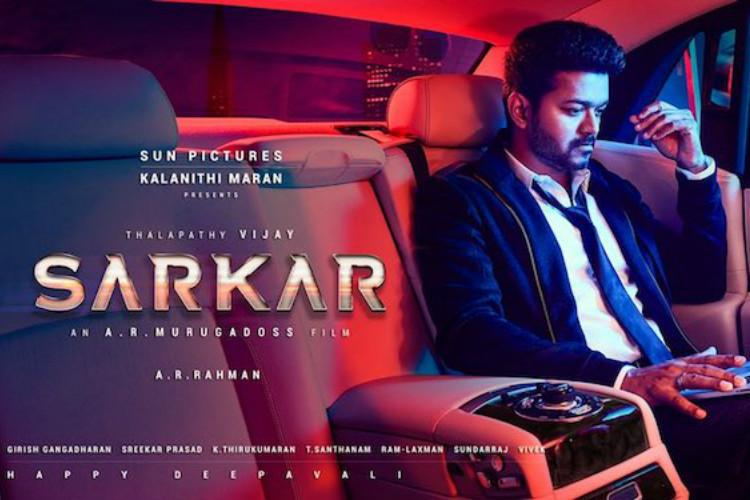 Vijay playing role of CM in Sarkar